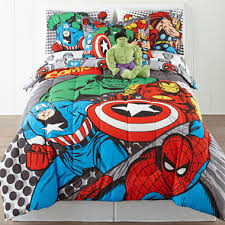 Marvel Double Duvet Cover Marvel Comics Avengers Twin Full Reversible Comforter Bonus Sham