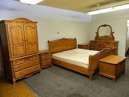 Oak Bed Set Surewood Summit Furniture Solid Oak Bedroom Set American Made