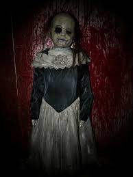 life size creepy deadly scary doll props halloween ideas