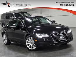 audi downers grove 2013 used audi a7 4dr hatchback quattro 3 0 premium plus at