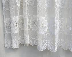 Sheer Embroidered Curtains Embroidery Curtains Etsy