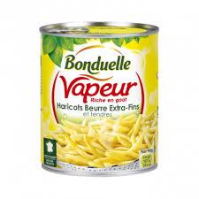 cuisiner haricots beurre haricots beurre fins et tendres vapeur les bons produits