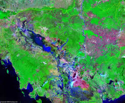Map Of Cambodia Cambodia Map And Satellite Image