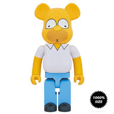 homer simpson homer simpson 1000 bearbrick by the simpsons x medicom toy mindzai