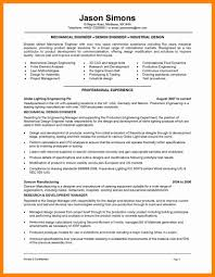 Resume Sample Of Mechanical Engineer 100 Resume Samples For Mechanical Engineering Students