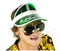 Fear Loathing Halloween Costume Fear U0026 Loathing Las Vegas Hunter Thompson Visor Sunglasses