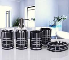 badezimmer zubehör günstig schwarz möbel dajiaxiaoshu badezimmer zubehör sets günstig