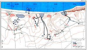 D Day Map Omaha Beachhead