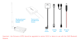 What S Included Buy 2 4g Bluetooth Datalink