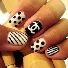 girly nail designs 2011 discovered by nita on we heart it
