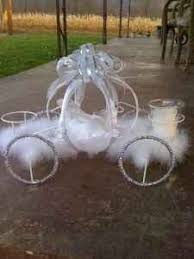 Cinderella Wire Carriage Centerpieces by Vintage Wire Cinderella Carriage Plant Stand Floral Wedding