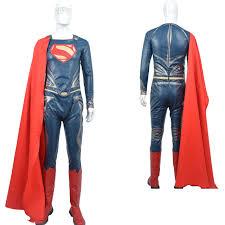 Superman Halloween Costume Aliexpress Buy Superman Man Steel Cosplay Costume