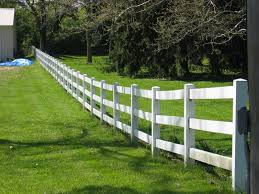 vinyl horse fencing are attractive option design and ideas of house