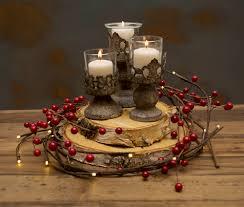 christmas centerpiece idea 1 diy natural lighted berry wreath