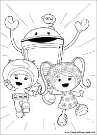 umizoomi coloring pages cartoons printable coloring pages