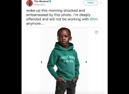 H M Of H M Model On Monkey Hoodie Controversy Get It