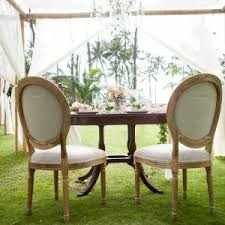 wedding table and chair rentals vintage furniture designs by hemingway