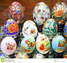 easter eggs sale beautiful easter eggs for sale editorial photography image 68624257