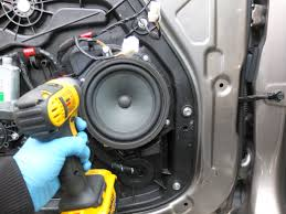 how to replace upgrade hyundai door speakers