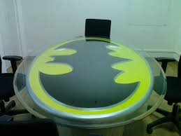 Batman Coffee Table For Sale Holy Table Batman 10 Super Batman Symbol Tables Riot Daily
