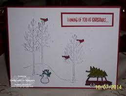handmade christmas cards stamping smiles