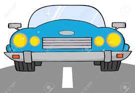 teal car clipart blue convertible car on a road royalty free cliparts vectors and