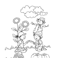 fall coloring pages print fall pictures color kids network