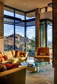 Mountain Home Interior Design Ideas by Home Rustic Modern Living Room House With Stone Wall White Sofa