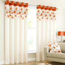 Orange White Curtains Orange White And Gray Curtains Burnt Orange And Grey Curtains Grey