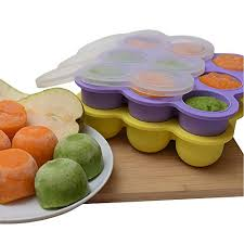 silicone cuisine kiddo feedo baby food storage the amazon original freezer tray