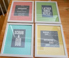 Bathroom Artwork Ideas by Almost There Bathroom Art And Free Printables Home Everyday