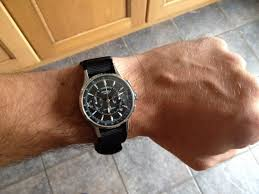 strela chronograph 38mm feels small on my wrist how does it