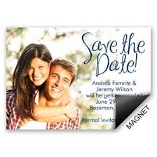 save the date magnets invitations by