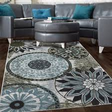Black And Brown Area Rugs Awesome Blue Area Rugs The Home Depot Intended For And Brown Rug