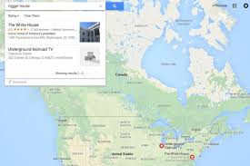 Oogle Map Searches In Google Maps Send Users To The White House The
