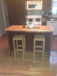 kitchen island with built in table bar stools ana white bar stool stools diy projects dining table