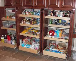 Storage In Kitchen - kitchen pantry cabinet pull out shelf storage sliding shelves