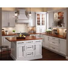 Kraftmaid Kitchen Cabinets Kitchen Unfinished Wood Kitchen Cabinet With Brown Marble