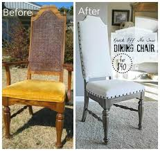Dining Room Table Chairs Best 25 Dining Chair Makeover Ideas On Pinterest Kitchen Chair