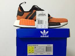 best price for adidas nmd pk runner men orange black adidas white