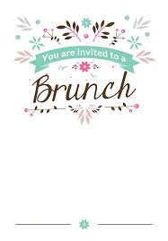 birthday brunch invitations brunch invitations templates 8 best brunch images on