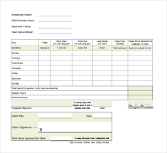 15 overtime sheet templates u2013 free sample example format