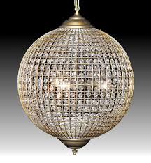 Chandelier Lights Uk by Cairo Globe Crystal Chandelier Available In 3 Sizes