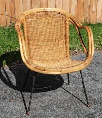 Mid Century Modern Patio Furniture Vtg Redwood Aluminum Folding Lawn Chair Patio Pool Metal Wood Mid