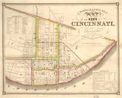 Ohio Canal Map by Old Map Of Cincinnati Which Includes Otr Otr Maps And