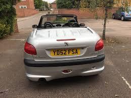 2 door peugeot cars superb peugeot 206 2 door cabbriolet leather seats drives