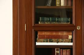 victorian eastlake corner 1885 antique walnut library bookcase or