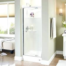 Shattering Shower Doors Delta Shower Door Soer Doors Reviews Contemporary Installation