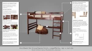 Schreibtisch F Erwachsene Hochbett Für Erwachsene