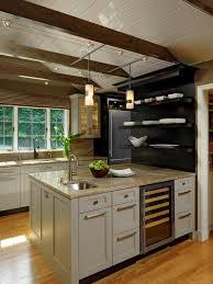Open Shelf Kitchen Ideas by Kitchen Style Sink Marble Countertop Black Open Shelves Kitchen
